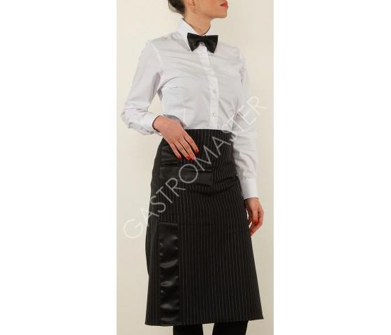 Konobarska uniforma , kecelja , kravata , košulja , konobarski prsluci